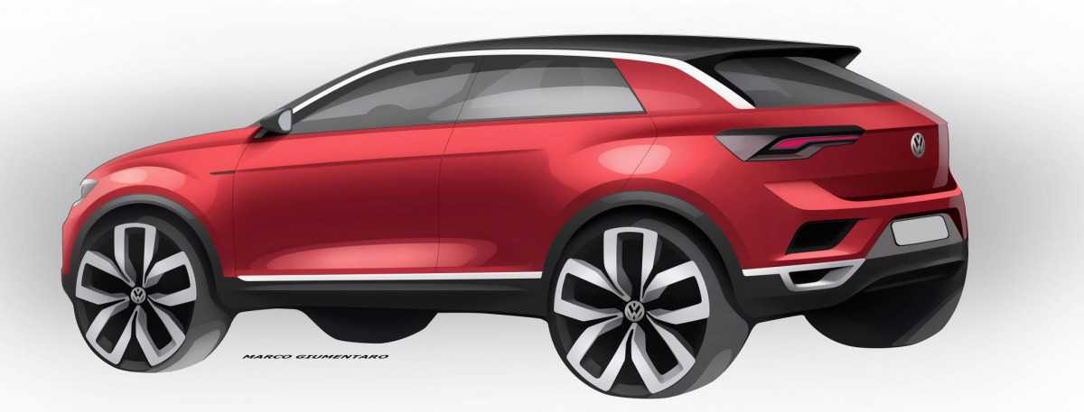 האם פולקסווגן T-ROC יהיה מה שאאודי Q2 היא לסדרת Q? איור: VW