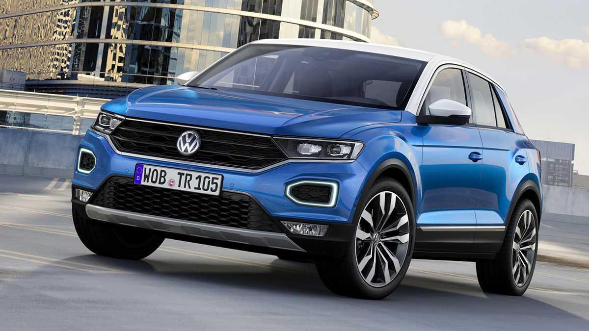 זה פולקסווגן T-ROC והוא לא יגיע אלינו ב-2018. צילום: VW