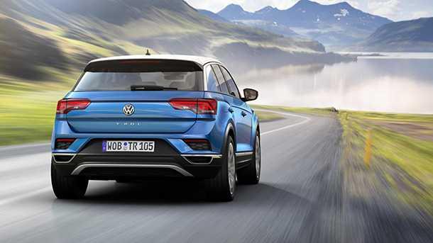 זה פולקסווגן T-ROC והוא יגיע אלינו ב-2018. צילום: VW