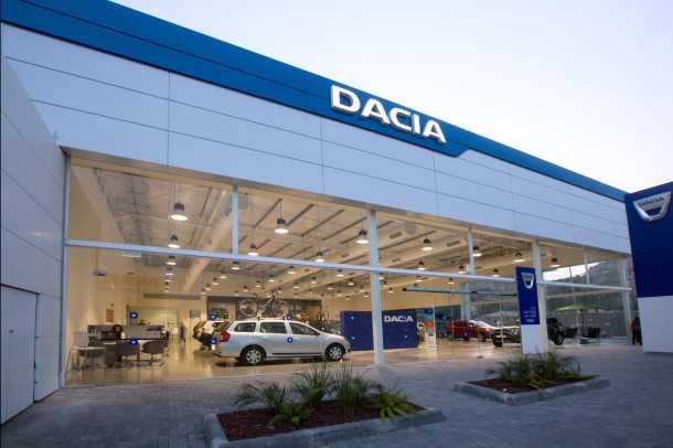 איך הפכה דאצ'יה למותג הרכב הצומח בישראל? כאן אולם התצוגה בחיפה. צילום: דאצ'יה