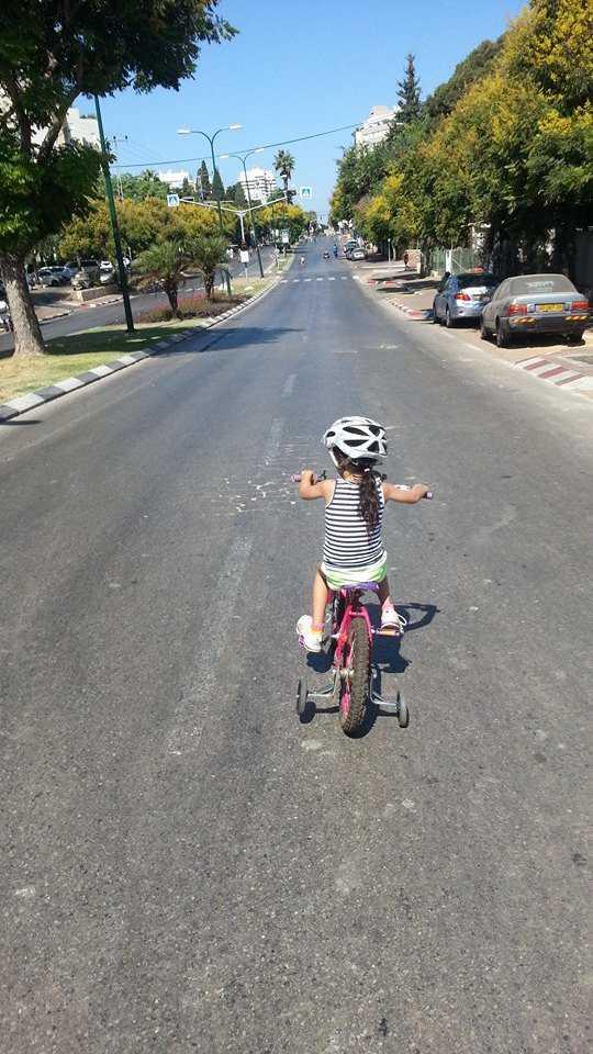 אופניים ביום כיפור. כדאי להתכונן. צילום: רוני נאק