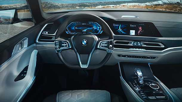 במוו X7 - העתיד הרב מושבי של BMW עשוי להיראות דומה מאד לזה. צילום: BMW