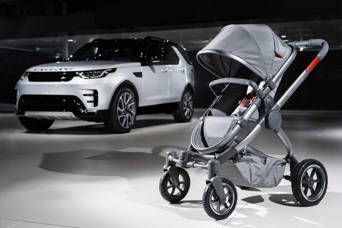 """עגלת תינוק לנד רוברית רק 7,200 שקלים בחו""""ל כמובן. צילום: לנד רובר"""