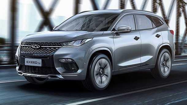 זה אקסיד XT - רכב כביש שטח סיני המיוצר על ידי צ'רי והוקם במטרה לחדור לשוק האירופאי. צילום: אקסיד