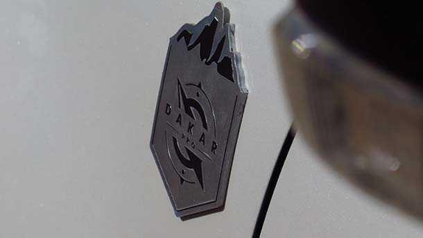 מבחן דכים מיצובישי פאג'רו דקאר פרו - לא לגיול בלבד. ערכת מתלים+מיגון+קוסמטיקה מסובסדת לרוכשי גרסת דקאר. צילום: רוני נאק