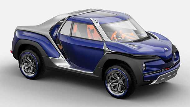 קונספט ימהה קרוס האב. רמז לחדירה עתידית של ימהה לעולם המכוניות? צילום: ימהה