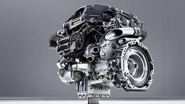 Mercedes-Benz Sechszylinder-Benzinmotor M256 - עם כיתוב בגרמנית זה יותר אותנטי - אז הנה.