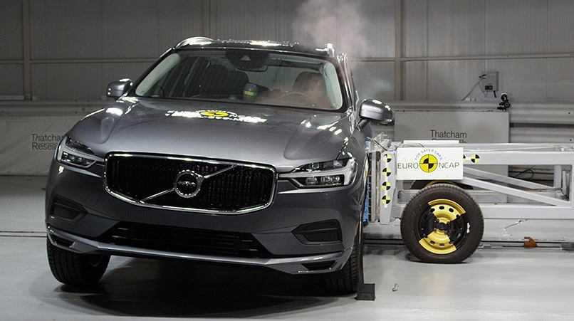 וולוו XC60 הוא רכב הפנאי הבטוח ביותר של 2017 - כך לפי NCAP. כבוד! צילום: NCAP