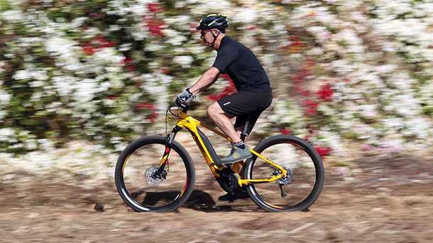 מבחן אופניים BERGAMONT E-REVOX 6.0 PLUS. צילום: פז בר