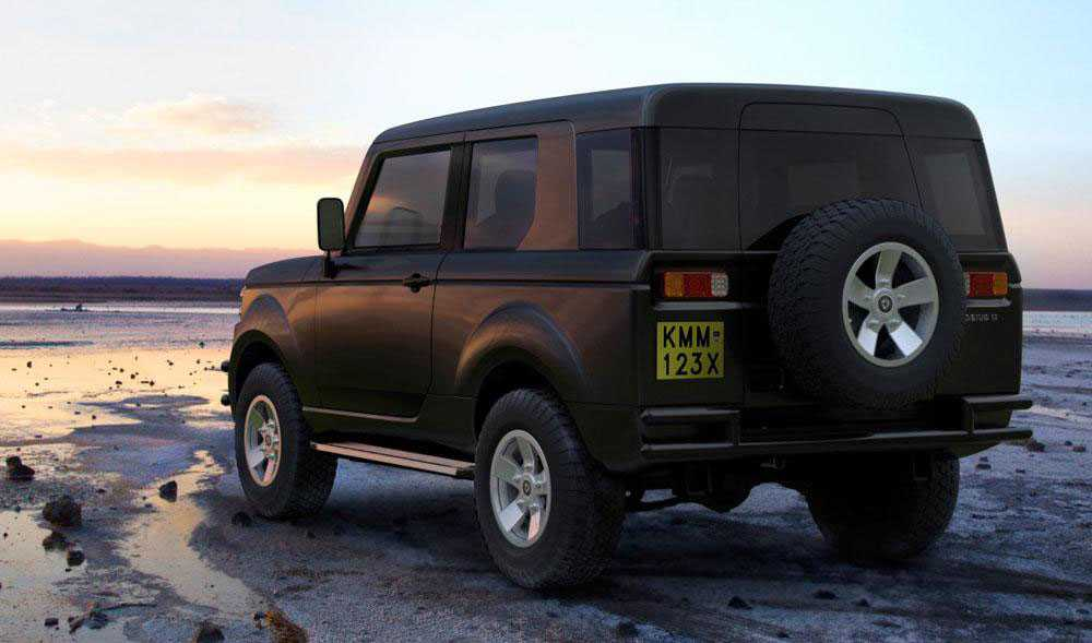 רכב שטח מאפריקה לצרכים של אפריקה - מוביאס 2 - יתן כלי עבודה נגיש לציבור בקניה. הדמיה: MOBIUS