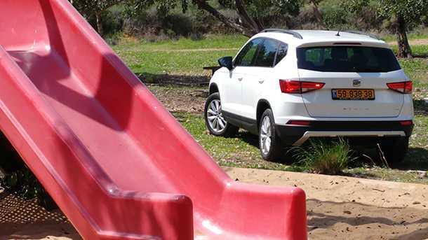 זה סיאט טראקו שיהיה רכב הפנאי עם 7 מושבים של מותג סיאט. איך ייראה? חישבו סקודה קודיאק - אבל ביפה. צילום: רוני נאק