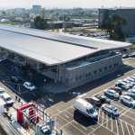 """מרכז חדש להשבחת כלי רכב של AVIS נחנך בלוד. השקעה של 30 מליון שקלים. צילום: יח""""צ שגיא מורן"""