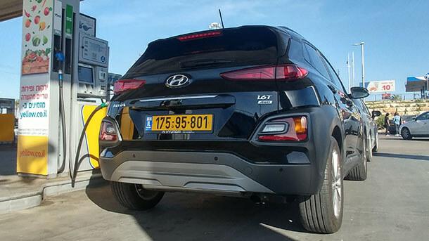 מבחן דרכים יונדאי קונה. רכב פנאי קומפקטי עם הנעה כפולה, מערכות בטיחות מתקדמות - ומחיר של משפחתית. צילום רוני נאק