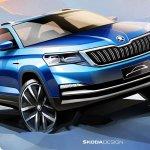 סקודה חדשה לשוק הסיני - סקודה CITY SUV במפתיע לא מוצר גלובאלי. צילום: סקודה