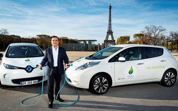"""יו""""ר קונצרן רנו-ניסאן-מיצובישי מכריז כי נפתרה בעיית הטווח ברכב חשמלי - קרלוס מחפש לתקוע אותך עם חשמלית? צילום: רנו"""