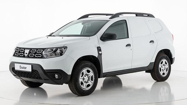 זה דא'ציה דאסטר FISCAL - גרסה מסחרית למדינות שבהן יש הכרת מס לכלי רכב מהסוג הזה (רמז - לא ישראל). צילום: דאצ'יה
