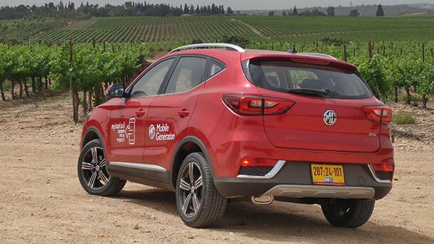 מבחן דרכים MG ZS - תמורה מצויינת לכסף בקבוצת המחיר הנגיש. סנונית ראשונה למכוניות טובות מסין? צילום: רוני נאק