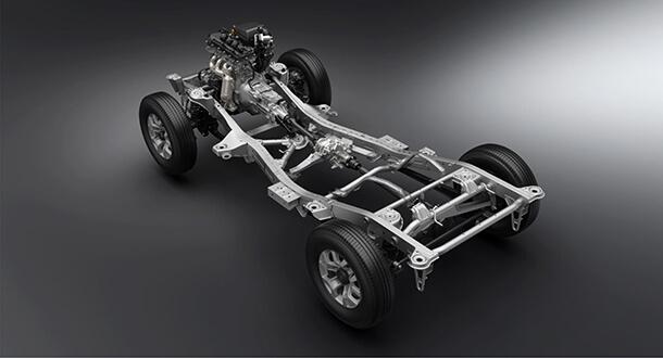 זה סוסוקי ג'ימני החדש - הוא יקבל מנוע 1.5ל' וגם מערכת בטיחות מקוריות. צילום: סוזוקי