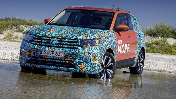 פולקסווגן מציגה רכב פנאי חדש - נוסף - פולקסווגן T CROSS. צילום: פולקסווגן