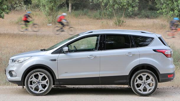 מבחן דרכים פורד קוגה טיטאניום - האם זה ה-SUV שכולם מפספסים? צילום: רוני נאק