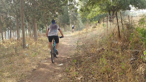טיול אופניים לסינגל קרית אתא - 13 קילומטרים מאד מהנים לרכיבה עם עליות לא קשות ומורדות מענגים. צילום: רוני נאק