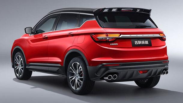 רכב פנאי חדש לג'ילי: ביניוואה או בקיצור SX11 - עם עיצוב במראה אירופאי ושימוש בפלטפורמה מודולארית חדשה. צילום: ג'ילי