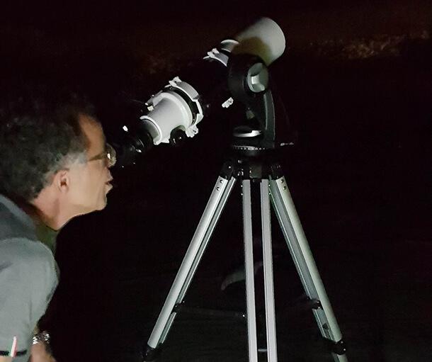 נהיגת לילה עם מועדון אבארט לראות כוכבים, עקרבים ובעיקר ליהנות. צילום: עמרי פדידה