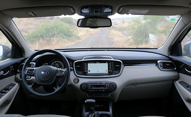 מבחן דרכים קיה סורנטו V6 - האם הוא באמת שווה 280 אלף שקלים? צילום: שטח