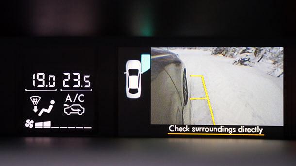 מחפשים את הבאר בלב הנגב עם סובארו פורסטר SX החדש - מצלמת חניה שניה - על מראת הצד - היא תוספת נחמדה ומועילה מאד. צילום: סובארו