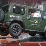 סוזוקי ג'ימני החדש מקבל ציון נמוך במבחן NCAP - רק 3 כוכבים ודי הרבה הערות שמצננות את ההתלהבות מהכלי החדש. צילום: NCAP