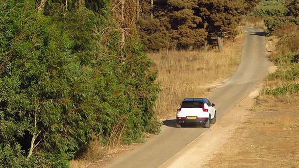 מבחן דרכים וולוו XC40 T5 - צלע שלישית ומלהיבה במשולש רכבי הפנאי של וולוו. צילום: רוני נאק
