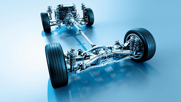 הנעה 4X4 של סובארו מהוותיקות והמוכחות שיש. לא ניתוק מעל מהירות מסויימות או שילוב כשמאוחר מדי - כל הגלגלים מקבלים כוח כל הזמן כשהחלוקה משתנה לפי רמת האחיזה. צילום: סובארו