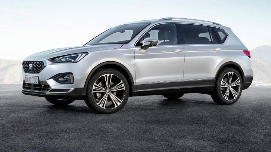 הנה סיאט TARACO - רכב פנאי עם 7 מושבים אשר יגיע ממפעלי VW בגרמניה. צילום: סיאט