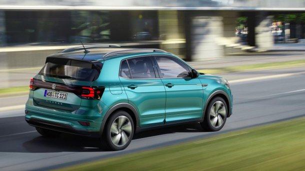 רכב פנאי נוסף עתיד להצטרף להיצע של VW בקרוב. T CROSS - עם מנועי ליטר, DSG ומערכות בטיחות אקטיביות. צילום: VW