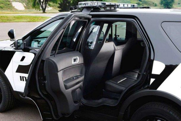 זה הרכב המשטרתי החדש של פורד - והוא יתפוס אתכם! צילום: פורד