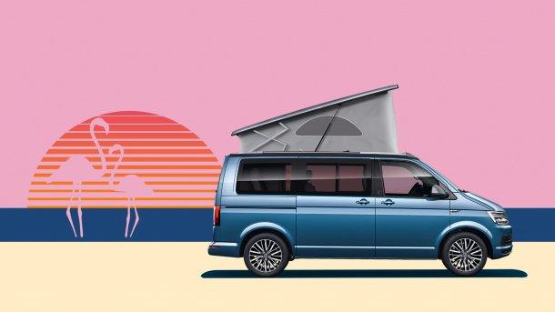 צאו לטייל! פולקסווגן קליפורניה מציין 30 שנים של לינה מחוץ לבית. צילום: VW