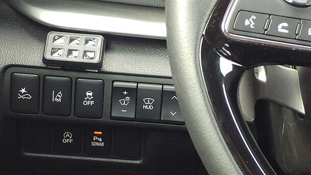 מבחן דרכים מיצובישי אקליפס קרוס. כל מה שתצפו לו ברכב פנאי מודרני ומתקדם החל מ-148,900 שקלים. המיתוג של מערכות הבטיחות המתקדמות - סוויטה מרשימה ומצילת חיים. צילום: רוני נאק