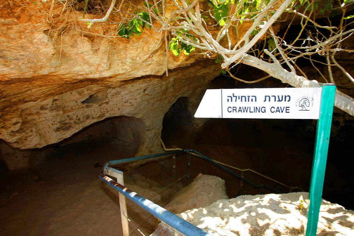 אל מערות הזחילה של חברות מדרס ובורגין. מקום מלהיב להעביר בו חצי יום. צילום: פז בר