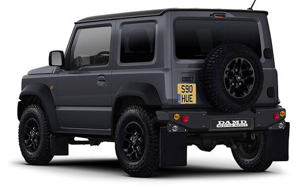 קיט מרכב של DAMD היפנית יגרום לכל סוזוקי ג'ימני חדש להיראות כמו לנד רובר דיפנדר - בקטן. צילום: DAMD