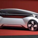 זה וולוו 360C אשר מבטא את החזון של וולוו לגבי תחבורה עתידית נטולת נהיגה. צילום: וולוו