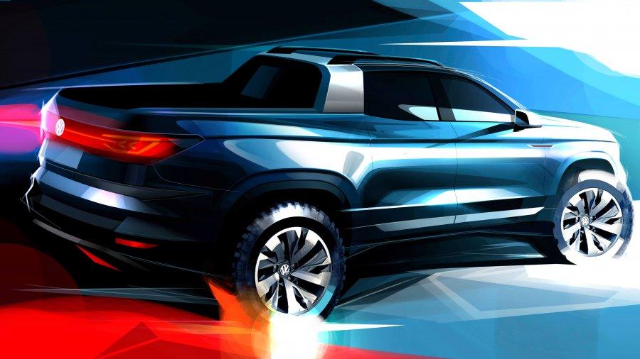בקרוב בברזיל: פולקסווגן מציגה קונספט לטנדר קאדי חדש. האם יחזור גם אלינו. צילום: VW