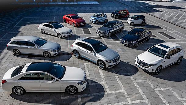 דיימלר - חוזה עצום להבטחה של אספקת סוללות בעשור הקרוב. תנאי הכרחי ליצור רחב היקף של המכוניות חשמליות. עוד 130 דגמים חשמליים והיברידיים בשלושת השנים הקרובות. צילום: מרצדס