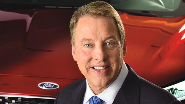 """VW רוצה יותר - שמה עין על מפעלי פורד בארה""""ב. יביל פורד (בצילום) על אנשי VW - """"התאמה תרבותית טובה"""". צילום: פורד"""
