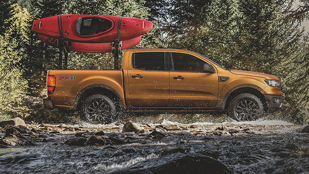 "VW רוצה יותר - שמה עין על מפעלי פורד בארה""ב. טנדר פורד ריינג'ר עשוי להיות הבסיס לדור הבא של פולקסווגן אמארוק. צילום: פורד"