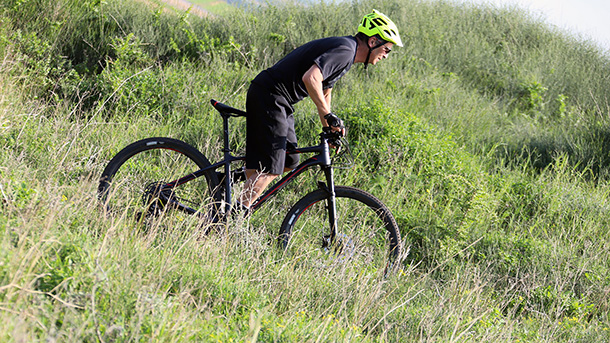 מבחן אופניים מרידה ביג 9 600. תמורה מצויינת לכסף ויכולת נאה בשבילים. צילום: פז בר