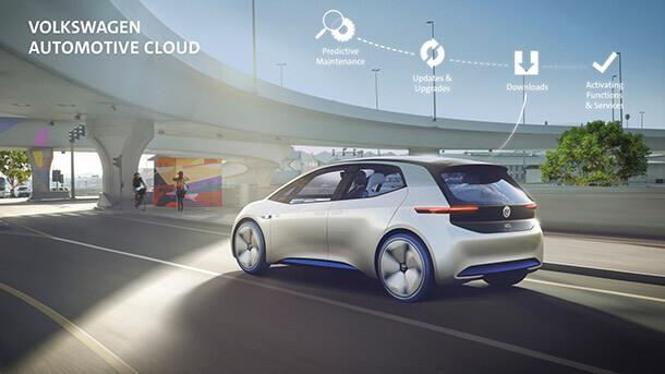 הנה פולקסווגן ID - בינתיים רק קונספט של רכב העתיד עם הנעה חשמלית כמובן (פיכסה דיזל) וחיבור מתמיד לענן לטובתך האישית. צילום: VW