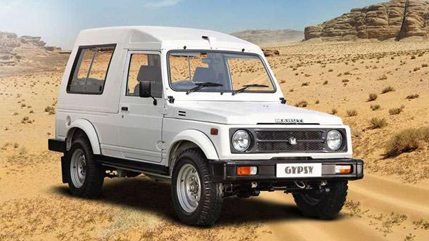 """הנה מרוטי ג'יפסי שעדיין משווק בהודו עם מנוע 1.3ל' 82 כ""""ס. חושבים שהוא זקוק לרענון? צילום: סוזוקי/מרוטי הודו"""