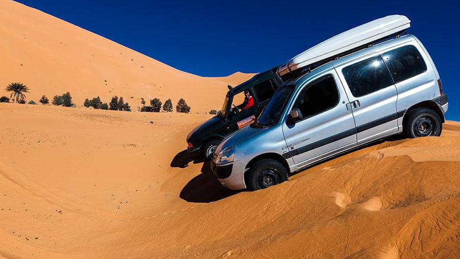 לצאת לאפריקה עם סיטרואן ברלינגו. סוג של גרוטאראלי/שטח בלעדי לברלינגו. צילום: D2E