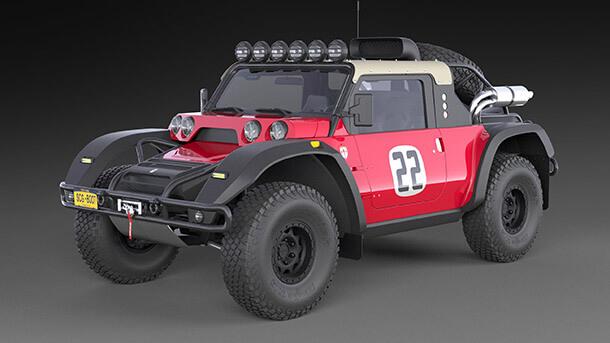 רק 250,000 דולרים וסדנת גליקנהאוס תבנה לכם את הרכב מירוצים לבאחה 1000. שווה! צילום: SG