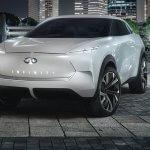 קונספט חשמלי לרכב פנאי של אינפיניטי - לצד הרמז למראה החדש יש מתחת פלטפורמה מעניינת. צילום: אינפיניטי